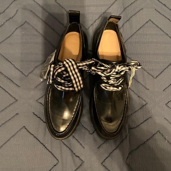 NWT Zara platform shoes